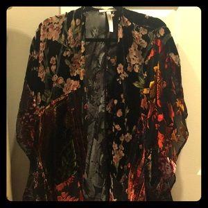 Anthropologie Floreat Kimono